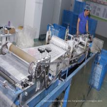 Máquina quirúrgica de fabricación de casquillo Bouffant de la mafia del clip quirúrgico no tejido