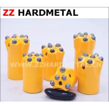 Carvão e Rock Drilling Taper Botão Broca