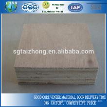 40mm Okoume Veneers Plywood Used For Door