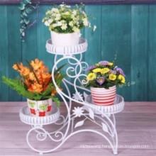 2016 New Design 3 Pot Decorative Metal Iron Flower Planter