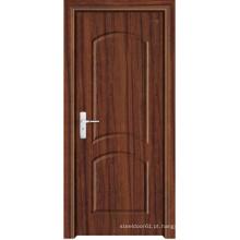 Porta interior do PVC feita em China (LTP-8008)