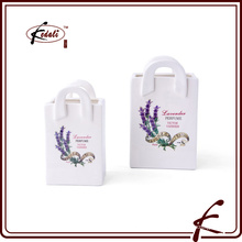 Доломитовая мини-цветочная корзина с надписью, выполненной в Чаочжоу