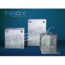 2015 Tibox Hot Sales Boîtier à bornes étanches en acier inoxydable IP66
