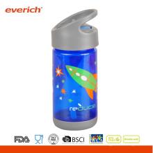 Everich 350ml Tritan BPA Kostenlose Kunststoff-Öko-freundliche Wasserflaschen
