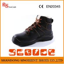 Черные рыцарские защитные сапоги RS533