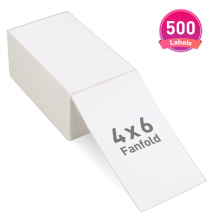 4x6 fanfold shipping label compatibe for Amazon Ebay