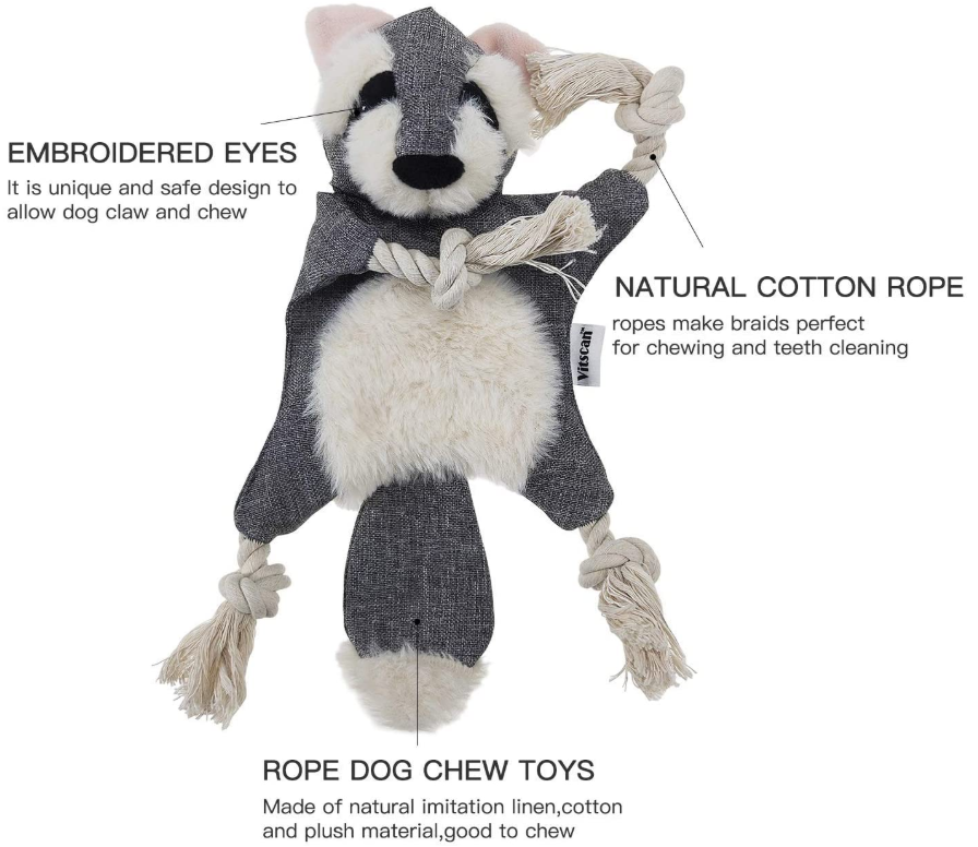 Plush Dog Toys Squeaker