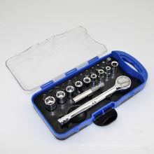 23PCS Ratchet Handle Socket Bits Set Hand Tool