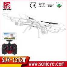 Producto de venta caliente RC Quadcopter con WIFI fpv drone con cámara Soporte VR BOX Glasses Helicóptero SJY-1332W