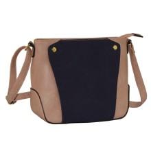 Mini Shoulder Mini Handbag com cores contrastantes