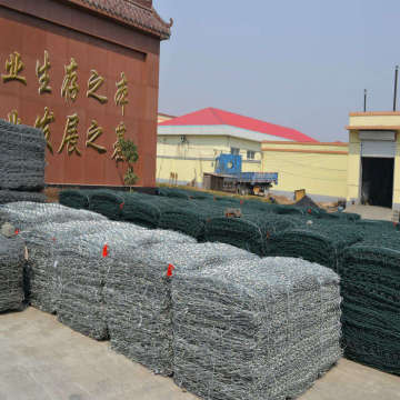 PVC Green Colors Gabion Mesh