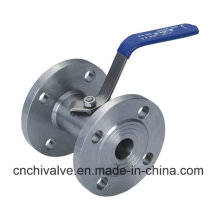 Ss304 150lb 1PC Flanged Ball Valve