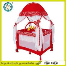 2015 New design infant playpen cot