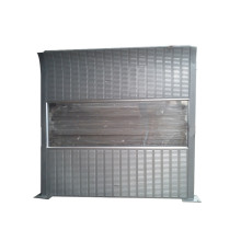 Panel de valla de barrera de sonido recubierto de polvo