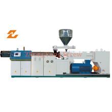 Maquinaria extrusora paralela doble para perfil de lámina de tubería de PVC