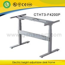 Escritorio de oficina ajustable de la altura ergonómica vendedora caliente o marco de tabla para la compañía