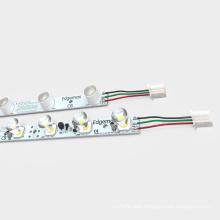 High power 8 bar led grow light 24v white/warm white led light box for lighting