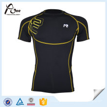 Kundenspezifische Stretch Compression Shirts Großhandel für Männer