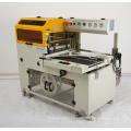 L forma cortadora automático de sellado de Junta cerámica bebida metales con foto celda Sensor y 3 lado sello de embalaje