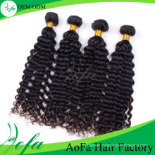 Wholesale Brazilian Deep Wave Virgin Hair Remy Human Hair Extension
