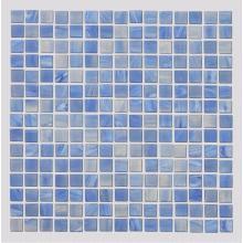 Carreaux de mosaïque en verre de l'aquarium bleu