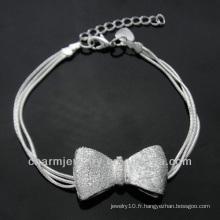 Bracelet en argent sterling 925 pour garçons BSS-023