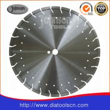 Lame de scie à diamant laser 400mm pour béton armé