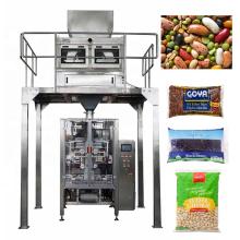 Машина для упаковки в полиэтиленовую пленку с однослойной фасолью и орехами