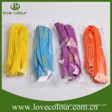 Kundenspezifische billige bunte gedruckte Polyester-Schnürsenkel