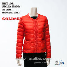2017 élégante veste rouge chaude et super chaude avec doublure et dentelle