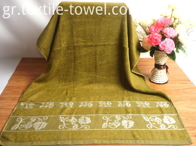 Jacquard Trim Designer Towels