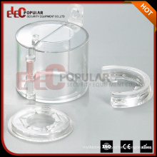 Elecpopular High Strength Transparent Resin PC Durable Emergency Stop Safety Lockout Install Easily