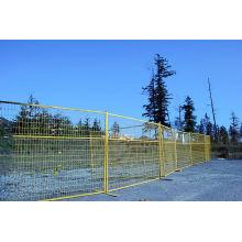 Heißer Verkauf PVC überzogener temporärer Zaun für Kanada-Markt