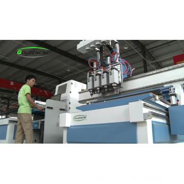 1300 * 2500mm atc 4 eixo cnc router preço da máquina de corte de madeira