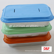 Einweg-Aluminium-Folie Airline Mittagessen / Mahlzeit-Box