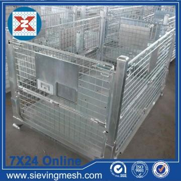 Foldable Metal Storage Basket