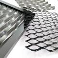Malla de alambre de diamante expandido de titanio para aeroespacial