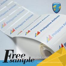 Máquina de venta caliente en blanco con etiquetas de seguridad a prueba de manipulaciones a largo plazo con soporte técnico