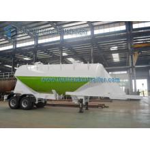 Conoid Shaped 30m3 Dry Bulk Trailer, Cement Tanker Tandem Semi Trailer