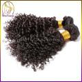 Доставка из Китая 1b натуральных человеческих волос монгольской кудрявый волос ткать