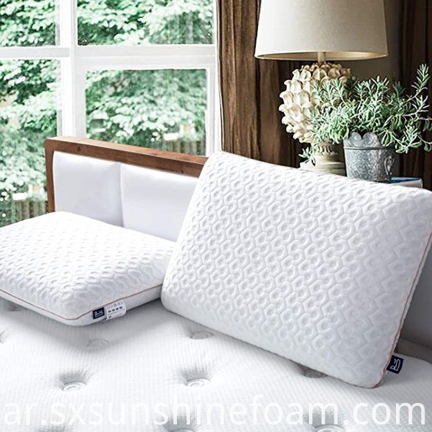 Ventilated Gel Memory Foam Pillow