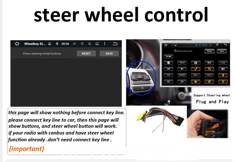 steering wheel control for Audi A4