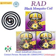 130mm 140mm Rad Fábrica Marca Mosquito Coil Assassino repelente China Supper OEM