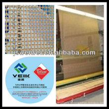 PTFE téflon PTFE enduit en fiber de verre ptfe tissu comme bonne résistance à la traction comme kevlar nouveau produit