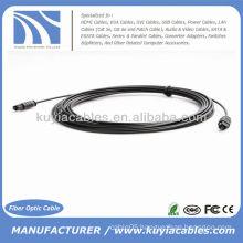 Digital Optical Optic Fiber Toslink Audio Cable OD2.2mm 5m