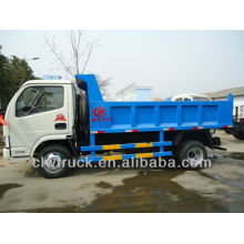 Dongfeng Small 4CBM Slip Cover Dump Truck, camión volquete 4x2