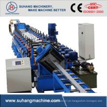 Eficiência Personalizar Máquinas de Perfilagem de Perfis de Metal Certificados Ce e ISO