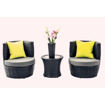4 PCS Outdoor Rattan Stackable Patio Furniture