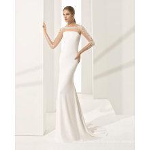 Fashion Mermaid Satin Wedding Dress
