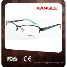2017 Wholesale Half Rim Frame Factory Acetate and Metal eyewear 2015